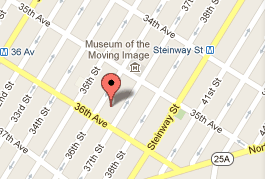 STUDIO SQUARE map, Queens NY